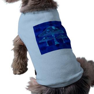 Psychedelic Mushrooms Pet Tee Shirt