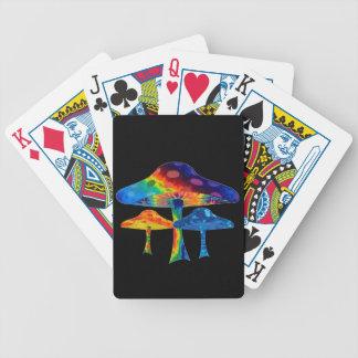 Psychedelic Mushrooms Poker Deck