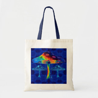 Psychedelic Mushrooms Tote Bag