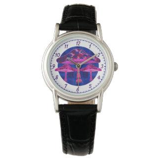 Psychedelic Mushrooms Wrist Watch