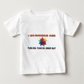 psychedelic music baby T-Shirt