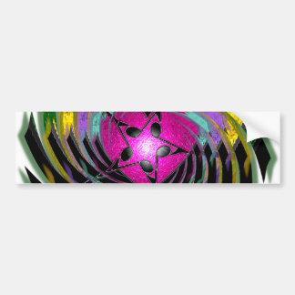 Psychedelic Music Bumper Sticker