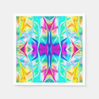 Psychedelic Napkins Paper Napkin