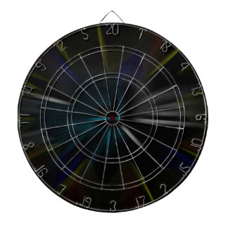 Psychedelic Nebula Dart Board