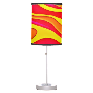 Psychedelic Neon Lava Lamp