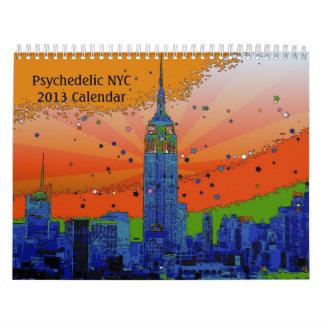 Psychedelic NYC 2013 Calendar