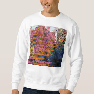 Psychedelic NYC: IAC Building, 100 W 11th Street Sweatshirt