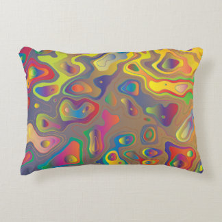 Psychedelic Oils Accent Pillow