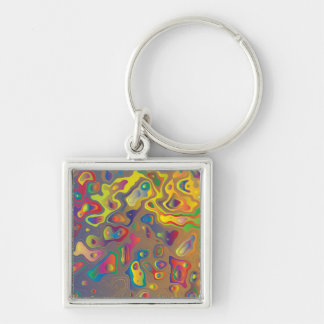 Psychedelic Oils Keychain
