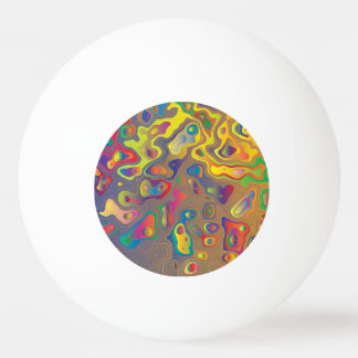 Psychedelic Oils Ping Pong Ball