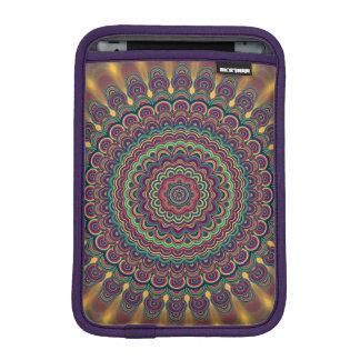 Psychedelic oval  mandala iPad mini sleeve