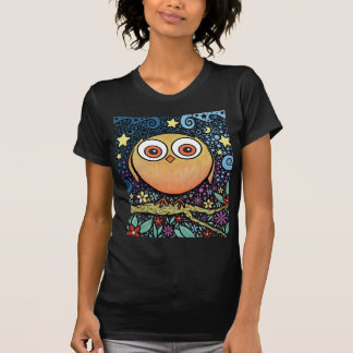 Psychedelic Owl T Shirts
