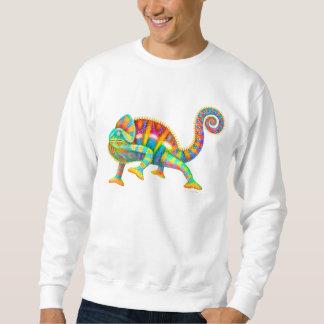 Psychedelic Panther Chameleon Sweatshirt