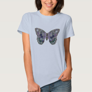 Psychedelic Patchwork Butterfly Shirt