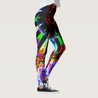 Psychedelic Patterns Leggings