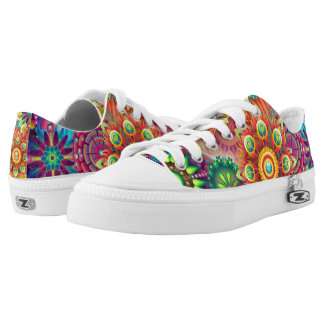 Psychedelic patterns Low-Top sneakers