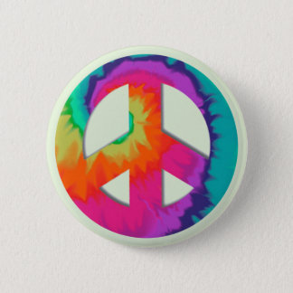 Psychedelic Peace 2 Inch Round Button