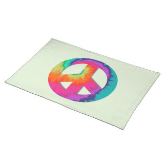 Psychedelic Peace Placemat