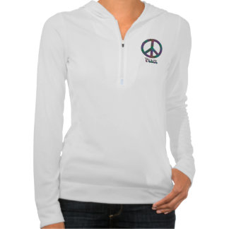 Psychedelic Peace Sign Sweat Jacket
