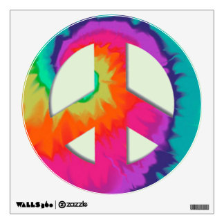 Psychedelic Peace Wall Decal