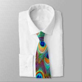 Psychedelic Peacock Tie