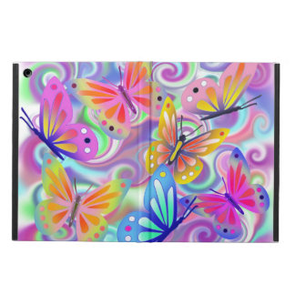 Psychedelic Pink Butterflies Ipad Air Case