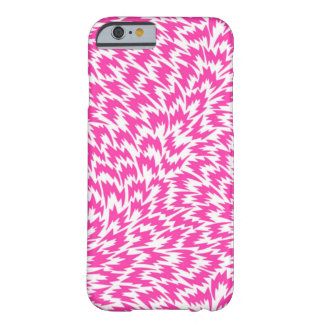 Psychedelic Pink Lightning Bolts iPhone 6 Case
