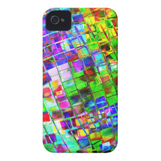 Psychedelic Planet Disco Ball iPhone 4 Case-Mate Case
