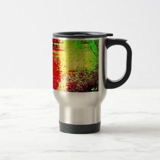 Psychedelic Pond Travel Mug