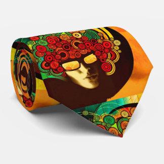 psychedelic pop art tie