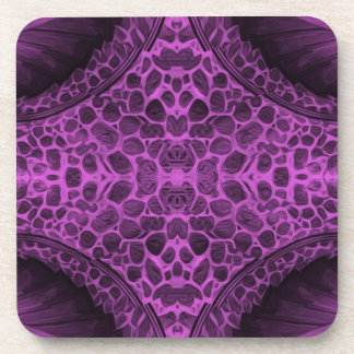Psychedelic Purple Coaster