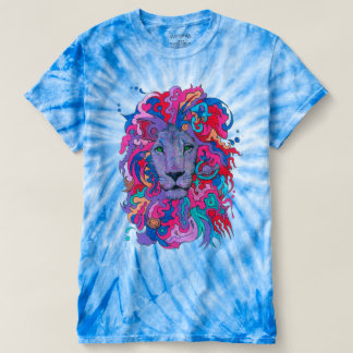 Psychedelic Purple Lion T-shirt