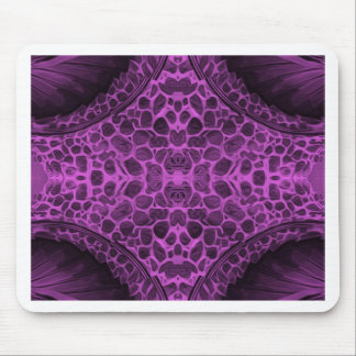 Psychedelic Purple Mouse Pad