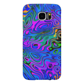 Psychedelic Purple Samsung Galaxy S6 Cases