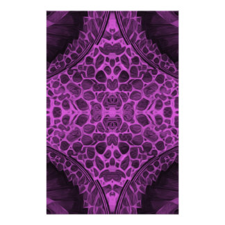 Psychedelic Purple Stationery