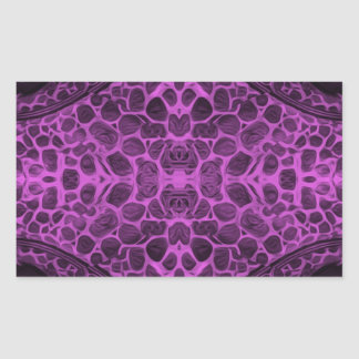 Psychedelic Purple Sticker