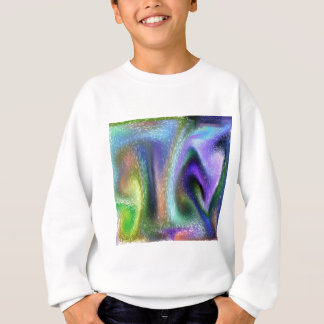Psychedelic purple sweatshirt