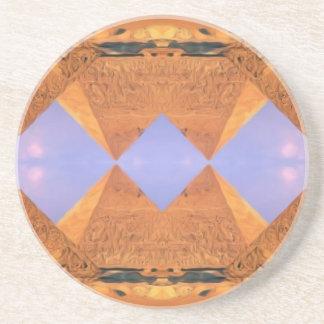 Psychedelic Pyramids Coaster