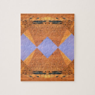 Psychedelic Pyramids Jigsaw Puzzle