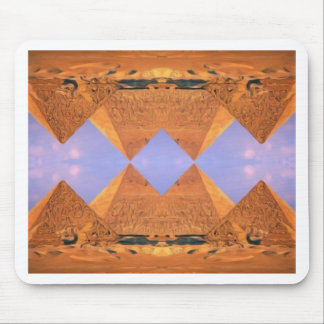Psychedelic Pyramids Mouse Pad