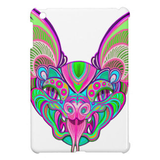 Psychedelic rainbow bat case for the iPad mini