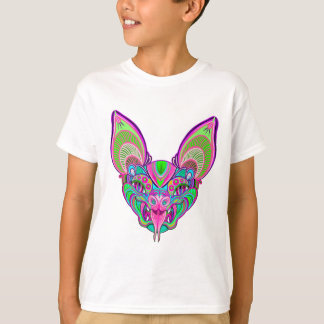Psychedelic rainbow bat T-Shirt
