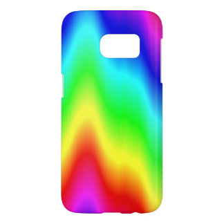 Psychedelic Rainbow Digital Art Phone Case