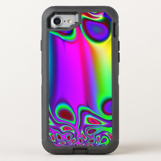Psychedelic Rainbow OtterBox Defender iPhone 7 Case