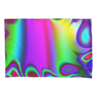 Psychedelic Rainbow Pillowcase