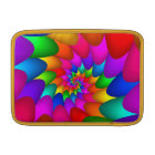 "Psychedelic Rainbow Spiral Macbook Air 11"" MacBook Sleeve"
