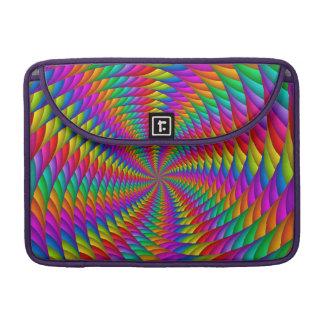 "Psychedelic Rainbow Spiral  Macbook Pro 13"" Sleeve Sleeve For MacBooks"