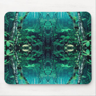 Psychedelic Rainforest Mouse Pad