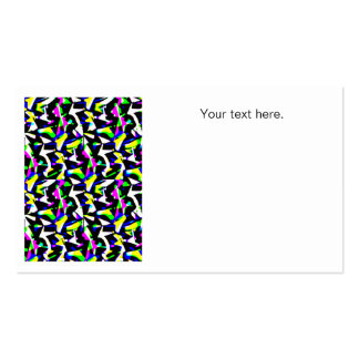 Psychedelic Rap Business Cards