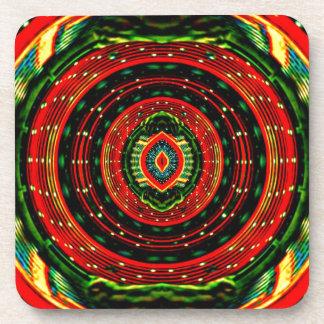 Psychedelic Rasta Coaster